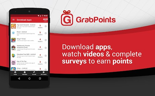 GrabPoints - Free Gift Cards - screenshot thumbnail