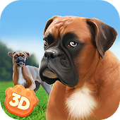 Boxer City Dog Simulator 3D