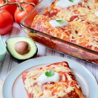 Leftover Roast Chicken & Black Beans Enchiladas Recipe