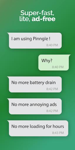 Pinngle Messenger - Free Calls 2.1.6 screenshots 4