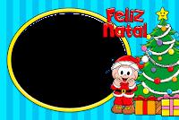 molduras-para-fotos-gratis-natal-monica-cebolinha