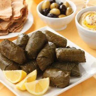 Lamb & Rice Stuffed Grape Leaves