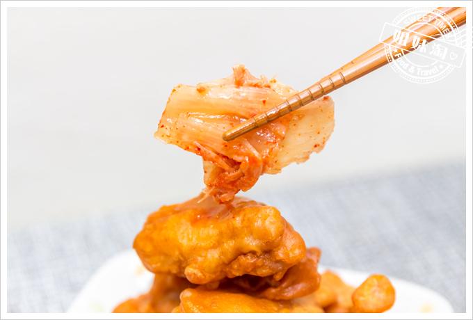 大頭韓式泡菜韓式炸雞