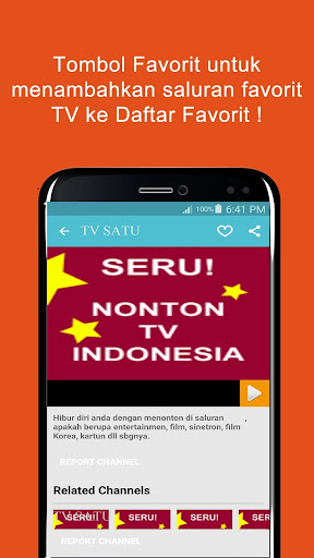 Seru: Nonton TV Indonesia for PC