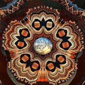 Pandora jewel by Linda Czerwinski-Scott - Illustration Abstract & Patterns ( abstract, illustration, fractal, design )