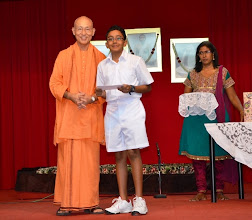 Photo: Award Receipient for the PSLE category - Vignesh Ravi Baskar