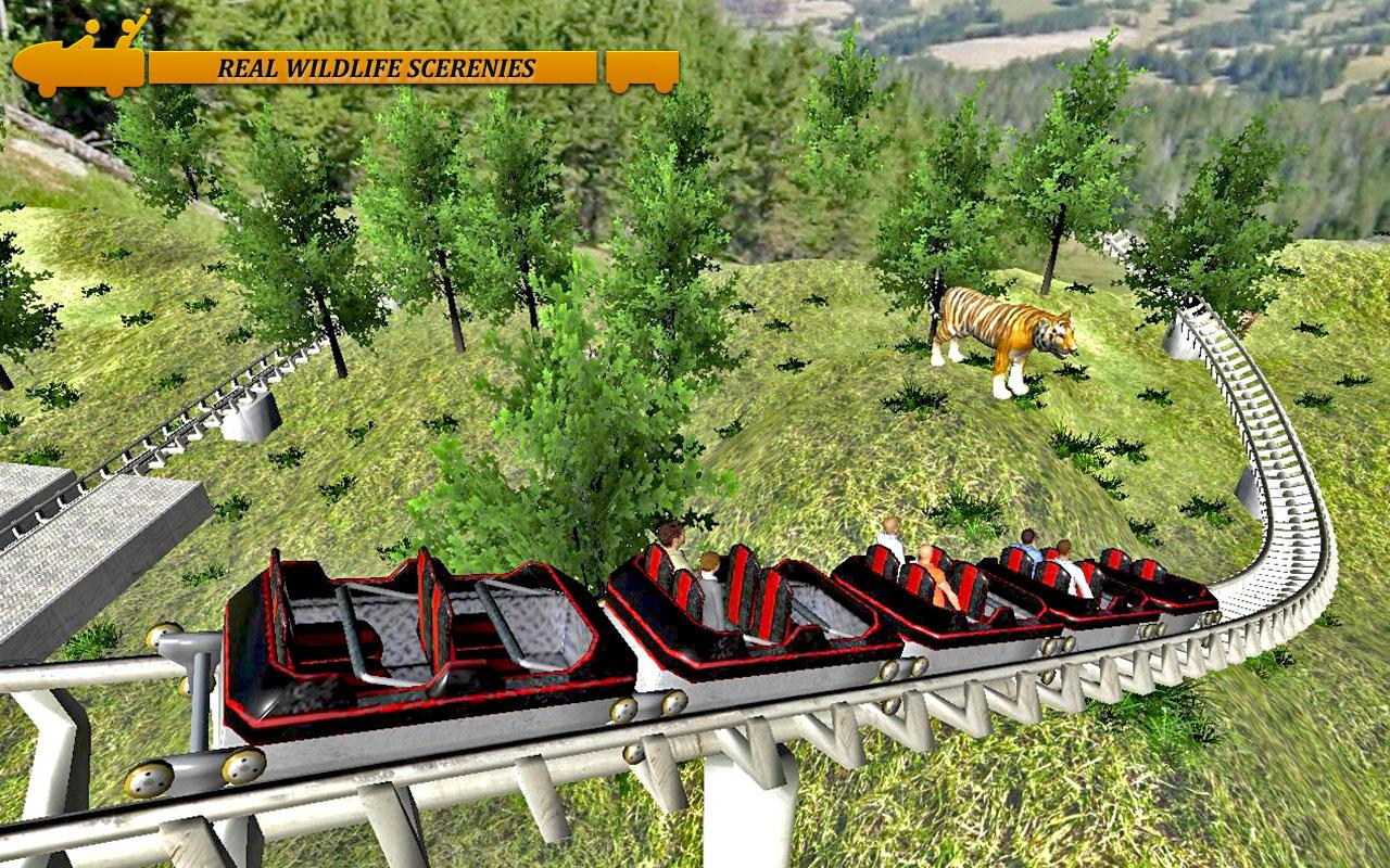 Mountain Valley Roller Coaster- screenshot