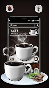 Black Tea Launcher Theme 1