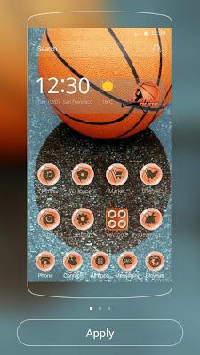 Basketball Theme Dunk - screenshot