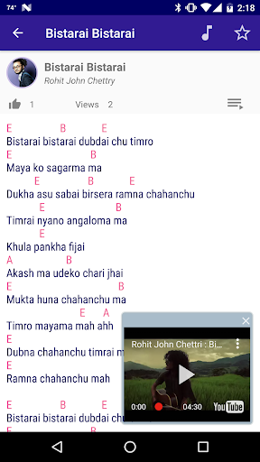 Download Nepali Songs Lyrics And Chords Google Play Softwares