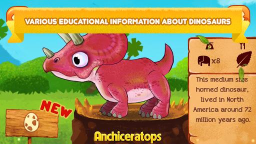 Télécharger gratuit Dino Farm - Dinosaur Games For Kids APK MOD 2