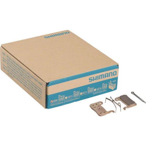 Shimano M06 Metal Disc Brake Pad, 25 Pairs