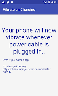 Vibrate on Charging start-wireless/wired charger Screenshot
