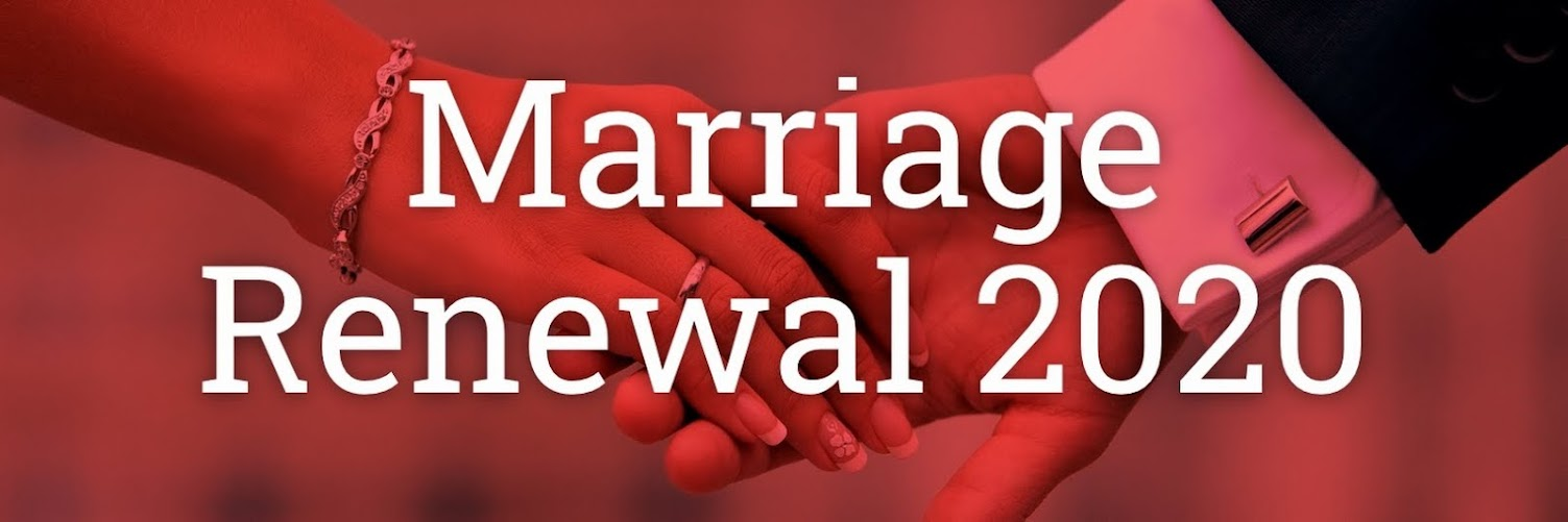 Marriage Renewal 2020