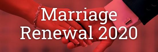 Marriage Renewal 2020