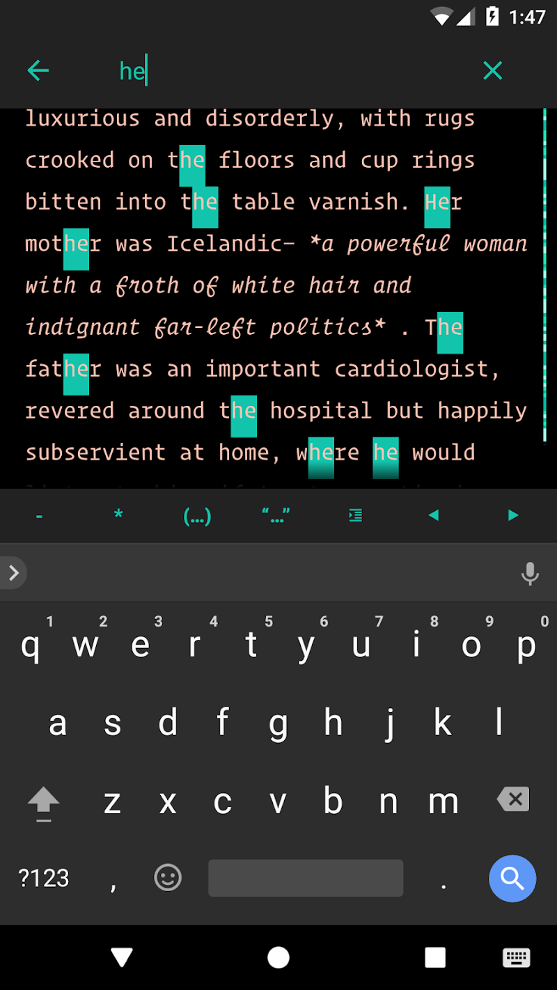JotterPad - Writer, Screenplay, Novel Screenshot 4