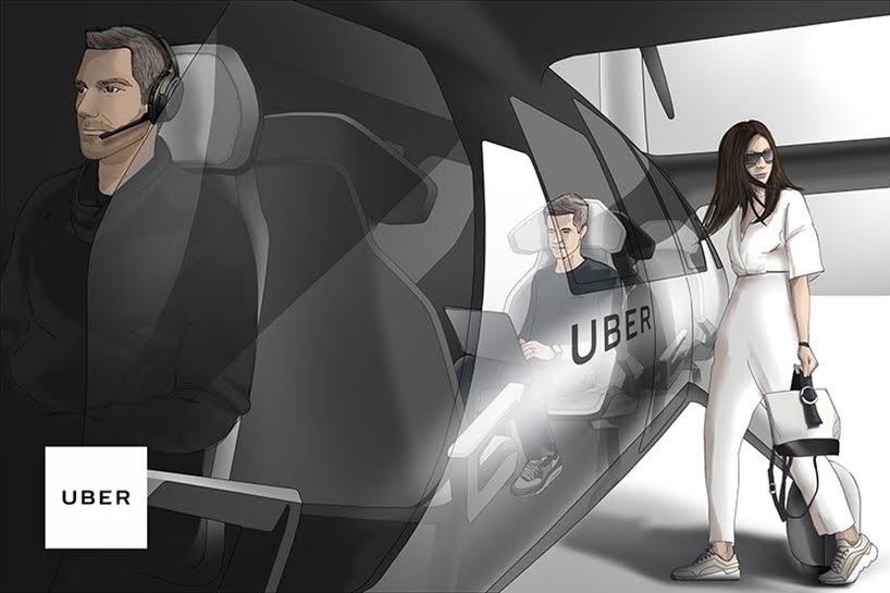 Uber revela el diseño de su nuevo concepto de vehículo volador que estaría operativo en 2023