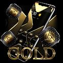 Gold Black Business Luxury Theme icon