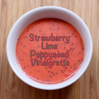 Strawberry Lime Poppyseed Vinaigrette