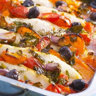Cod and Veggie Gratin