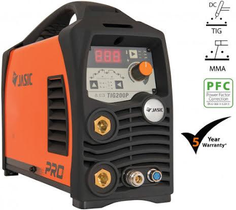 SVETS JASIC PRO TIG 200P DC PULSE PFC WIDE VOLTAGE
