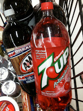 Photo: When I saw this 7up, my mind flashed back to the 'simply' juice I bought... this would make a great mixer!