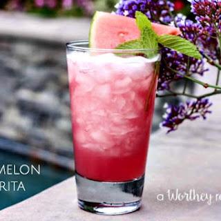The Guava Watermelon Margarita.