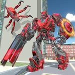 La policía nos transforme Hierro Robot araña héroe Icon