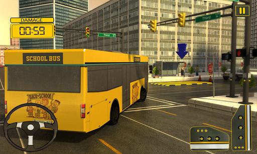 パーティースクールバスの運転