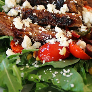 Charred Summer Steak Salad