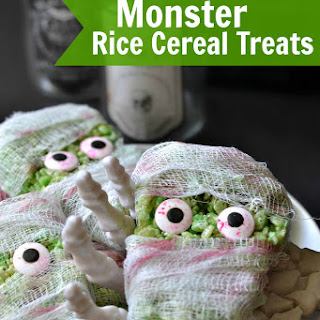 Monster Rice Cereal Treats