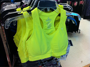 Photo: And I'd feel electric wearing this NEON sports bra!