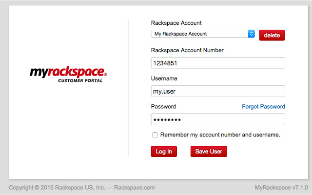 Chrome Rackspace-QuickChange