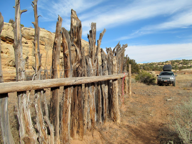 Corral near Waterhole Flat