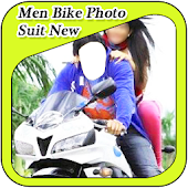 Men Bike Photo Suit New