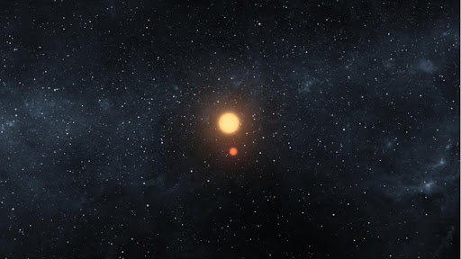 A Dance of Two Suns and One Planet Artist Concept