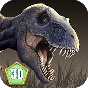 T-rex Simulator: Volcano World