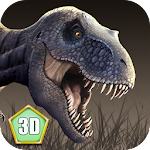 T-rex Simulator: Volcano World Icon
