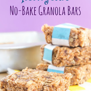 Honey Nut No-Bake Granola Bars
