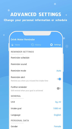 Water Reminder screenshot 16