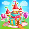 Candy Farm: Magic cake town & cookie dragon story icon