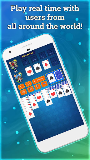Solitaire Online - Free Multiplayer Card Game 4.8 screenshots 2