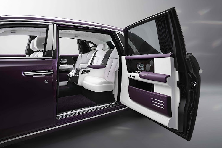 "Climbing into the new Phantom is all about ""the Embrace"". Picture: ROLLS-ROYCE MOTOR CARS LTD"