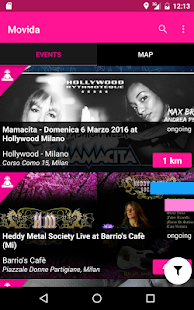Movida | events & concerts- screenshot thumbnail