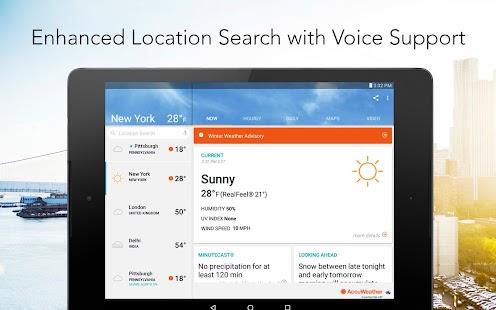 AccuWeather Platinum Screenshot 9