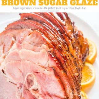 White Sugar Ham Glaze Recipes.