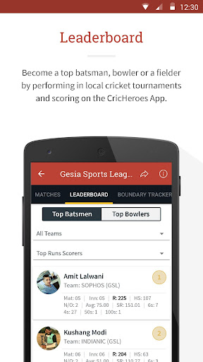 CricHeroes - The Ultimate Cricket Scoring App 3.9 screenshots 5
