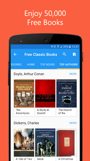 50000 Free eBooks & Free AudioBooks 5.3.5 screenshots 1