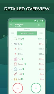 Monefy Pro - Money Manager Screenshot