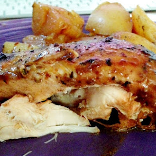 Crock-Pot chicken + potatoes